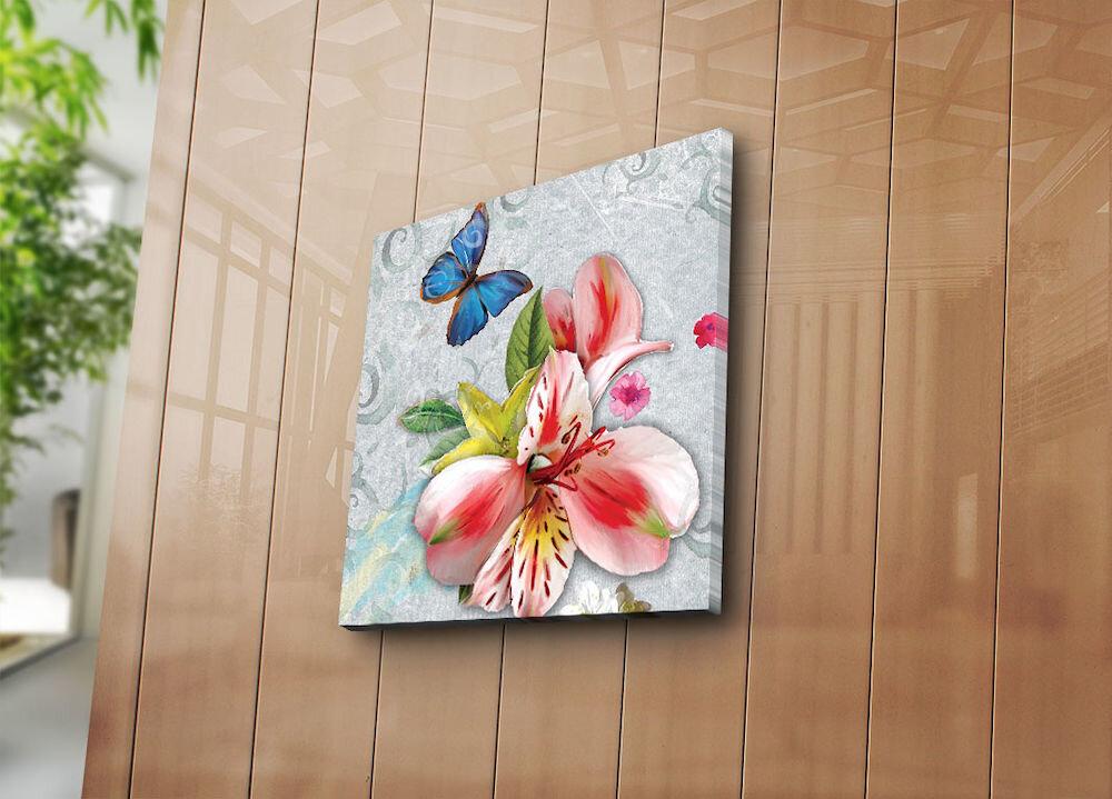 Tablou decorativ pe panza Bonanza, 242BNZ1269, 45 x 45 cm, panza