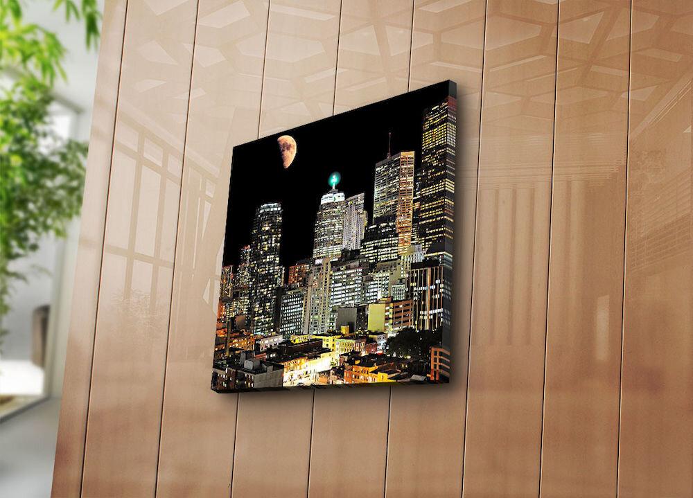Tablou decorativ pe panza Bonanza, 242BNZ1274, 45 x 45 cm, panza