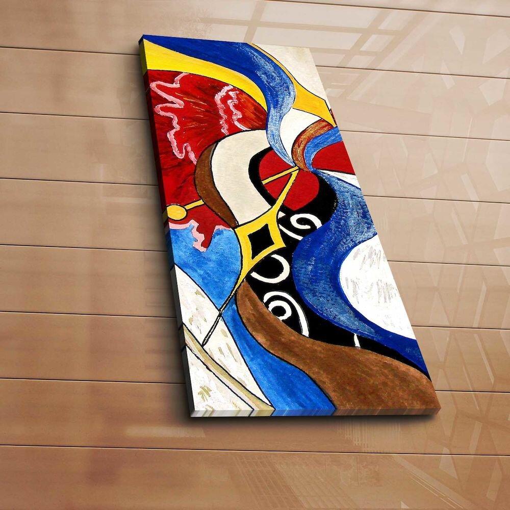 Tablou decorativ pe panza Horizon, 237HRZ1217, 30 x 70 cm, panza