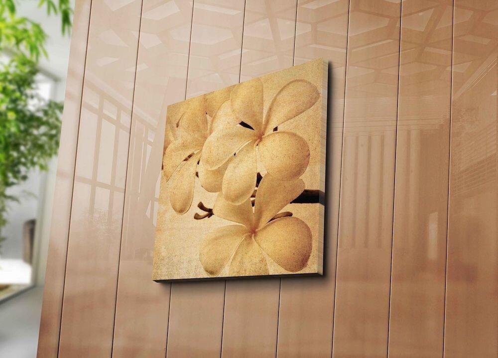 Tablou decorativ pe panza Horizon, 237HRZ1236, 45 x 45 cm, panza