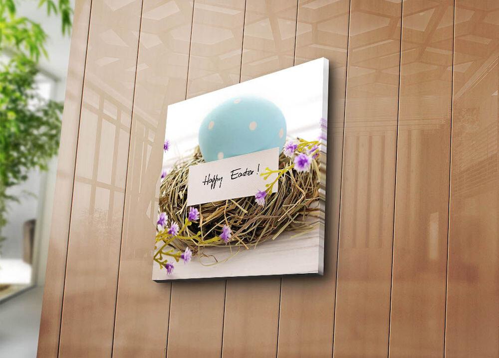 Tablou decorativ pe panza Sightly, 252SGH1361, 45 x 45 cm, panza