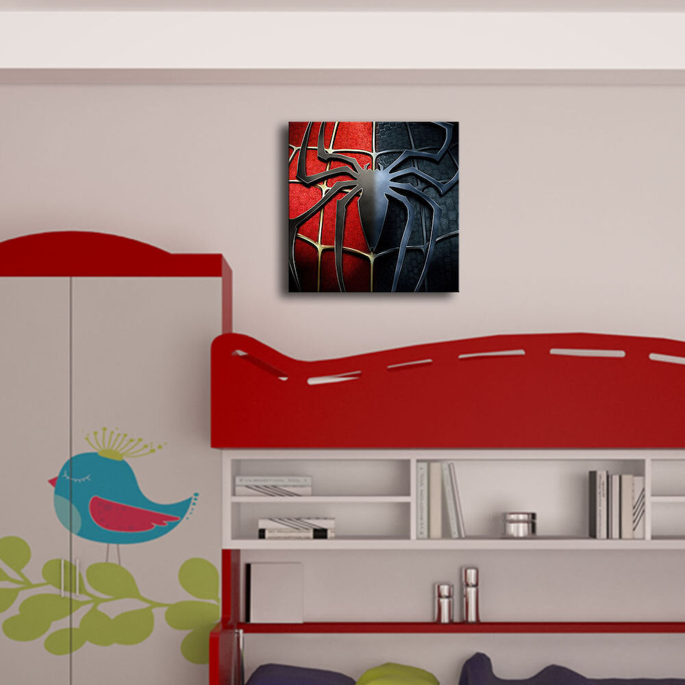Tablou decorativ pe panza Taffy, 241TFY1252, 45 x 45 cm, panza