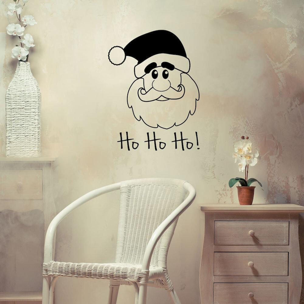 Sticker decorativ de perete Christmas Wall, 229CST1025, 49 x 64 cm