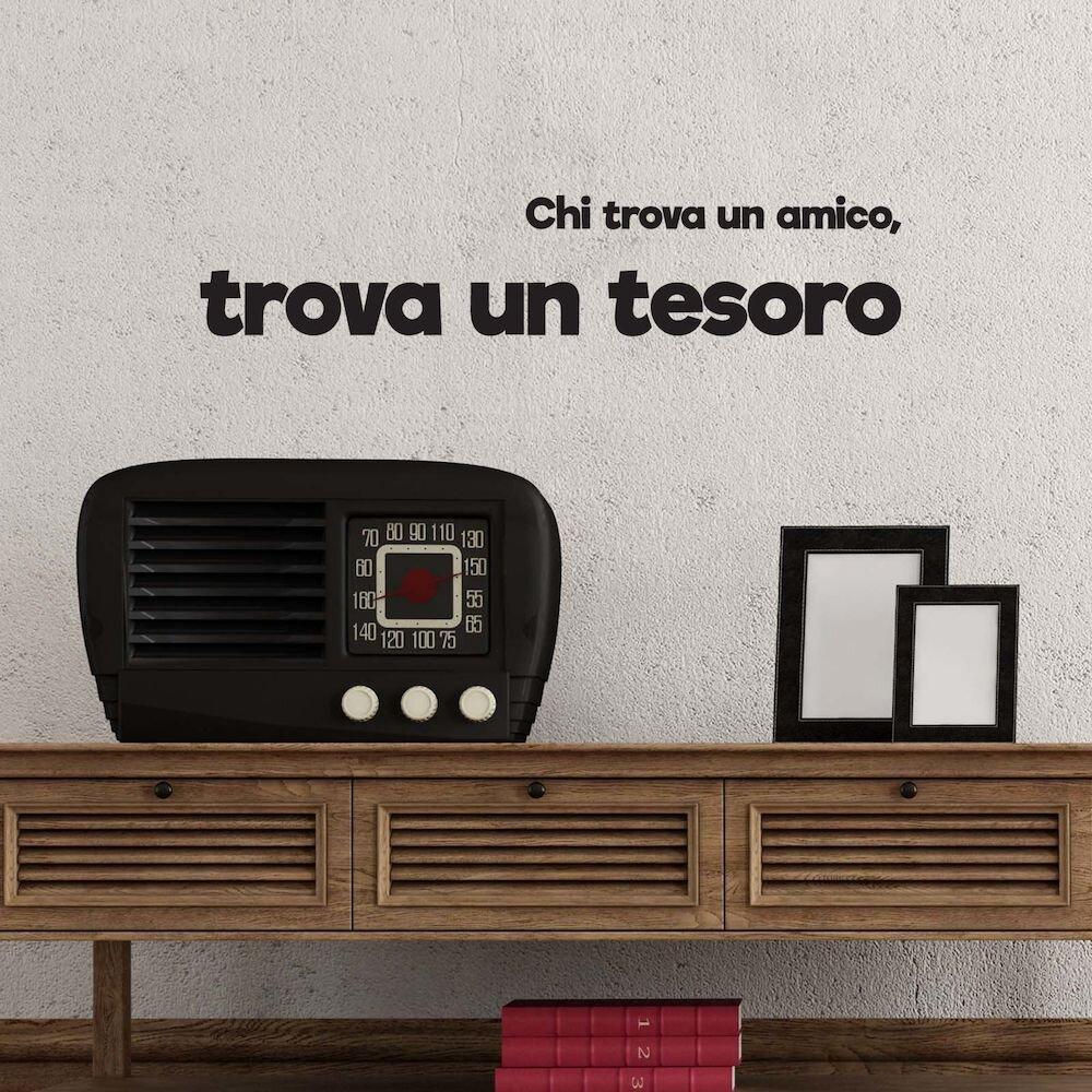 Sticker decorativ de perete Italian Wall, 262ITA1049, 115 x 23 cm