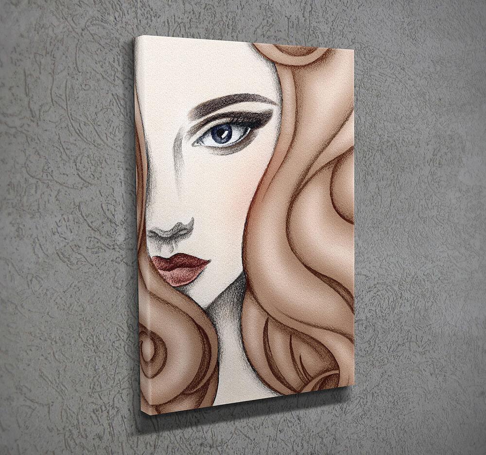 Tablou decorativ pe panza Majestic, 257MJS1304, 30 x 40 cm, panza