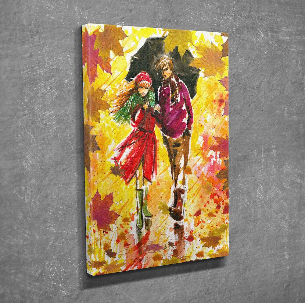 Tablou decorativ pe panza Symphony, 762SYM1219, 30 x 40 cm, panza