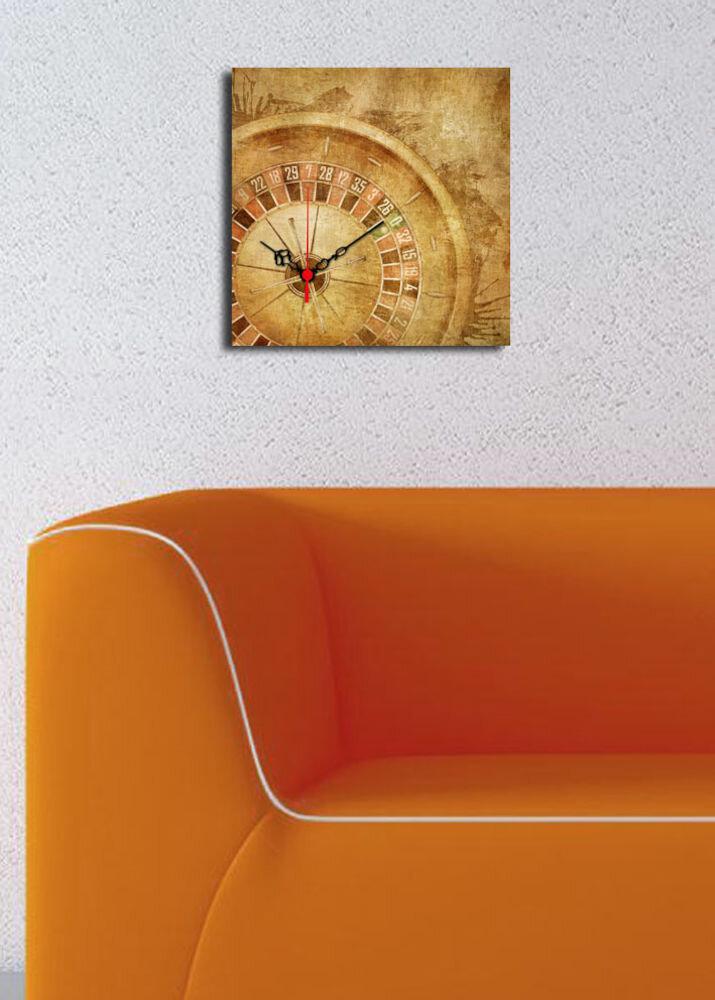 Ceas decorativ de perete Clock Art, 228CLA1605, 28 x 28, panza