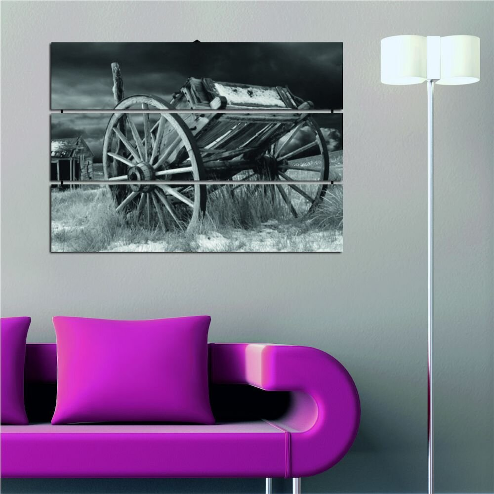 Tablou decorativ multicanvas Allure, 221ALL1986, 3 Piese, MDF (Grosime: 4mm)