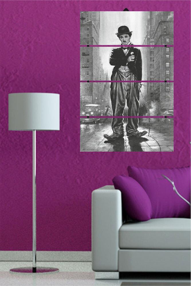 Tablou decorativ multicanvas Dilly, 222DLY2902, 4 Piese, MDF (Grosime: 4mm)