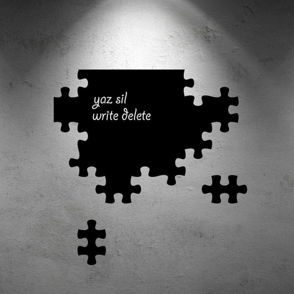 Sticker decorativ de perete Pushy, 246PHY6046, 48 x 48 cm