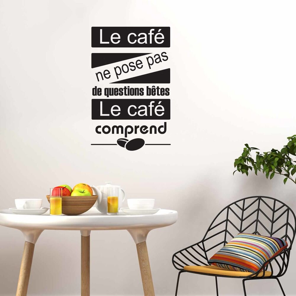 Sticker decorativ de perete French Wall, 753FRE1018, 41 x 65 cm