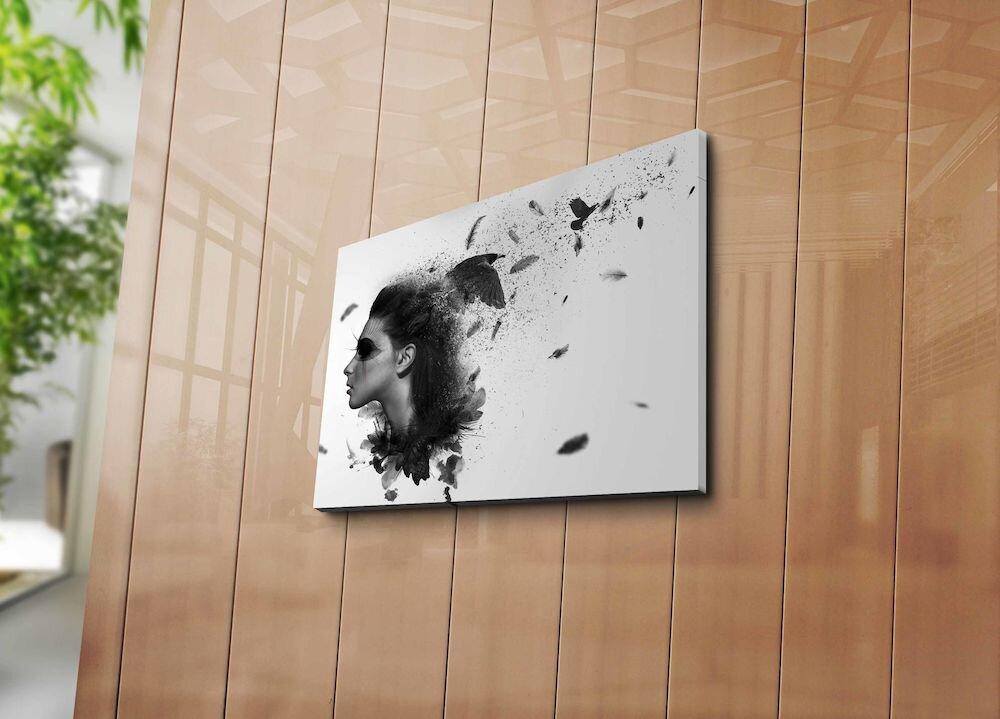 Tablou decorativ pe panza Horizon, 237HRZ5330, 30 x 40 cm, panza
