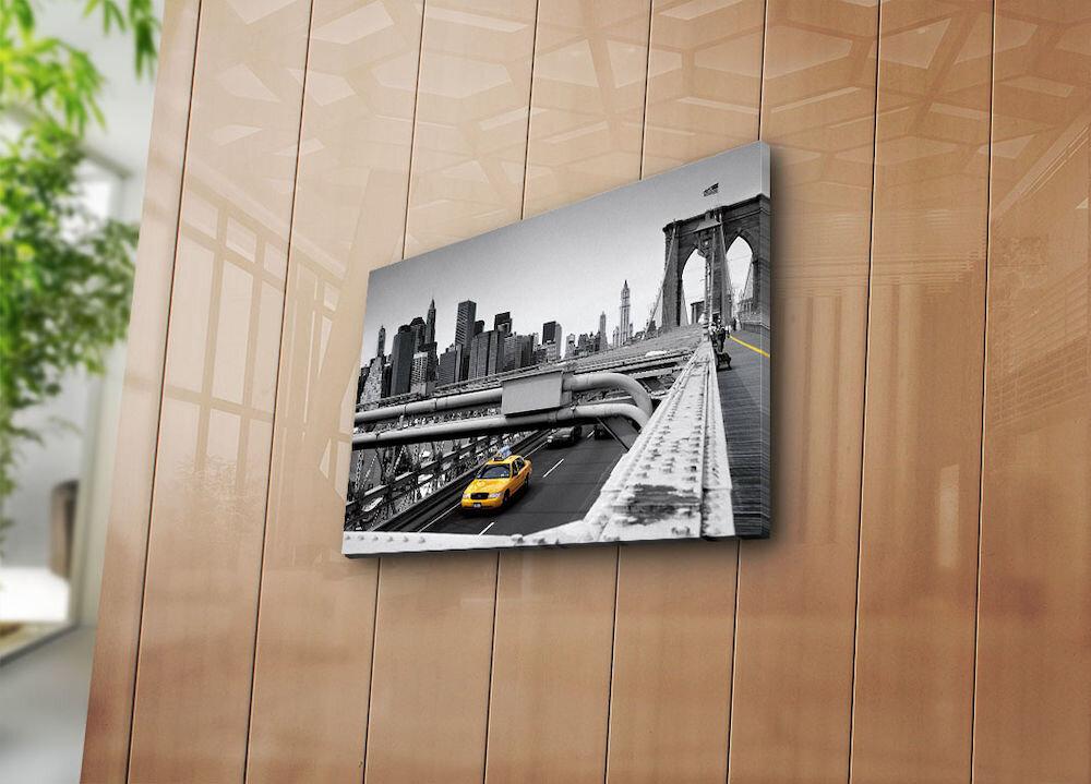 Tablou decorativ pe panza Horizon, 237HRZ3204, 30 x 40 cm, panza