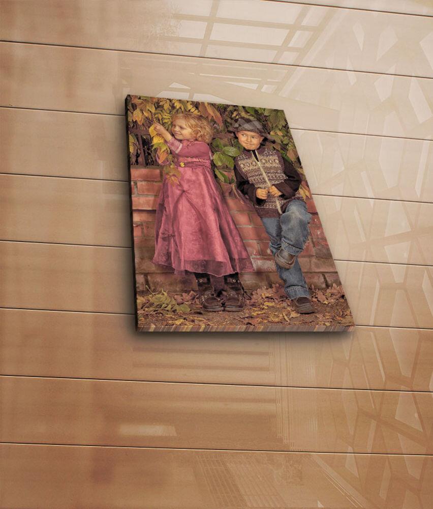 Tablou decorativ pe panza Horizon, 237HRZ3235, 28 x 38 cm, panza