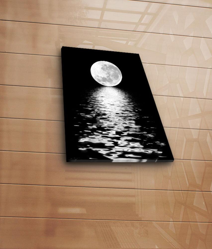 Tablou decorativ pe panza Horizon, 237HRZ3236, 28 x 38 cm, panza