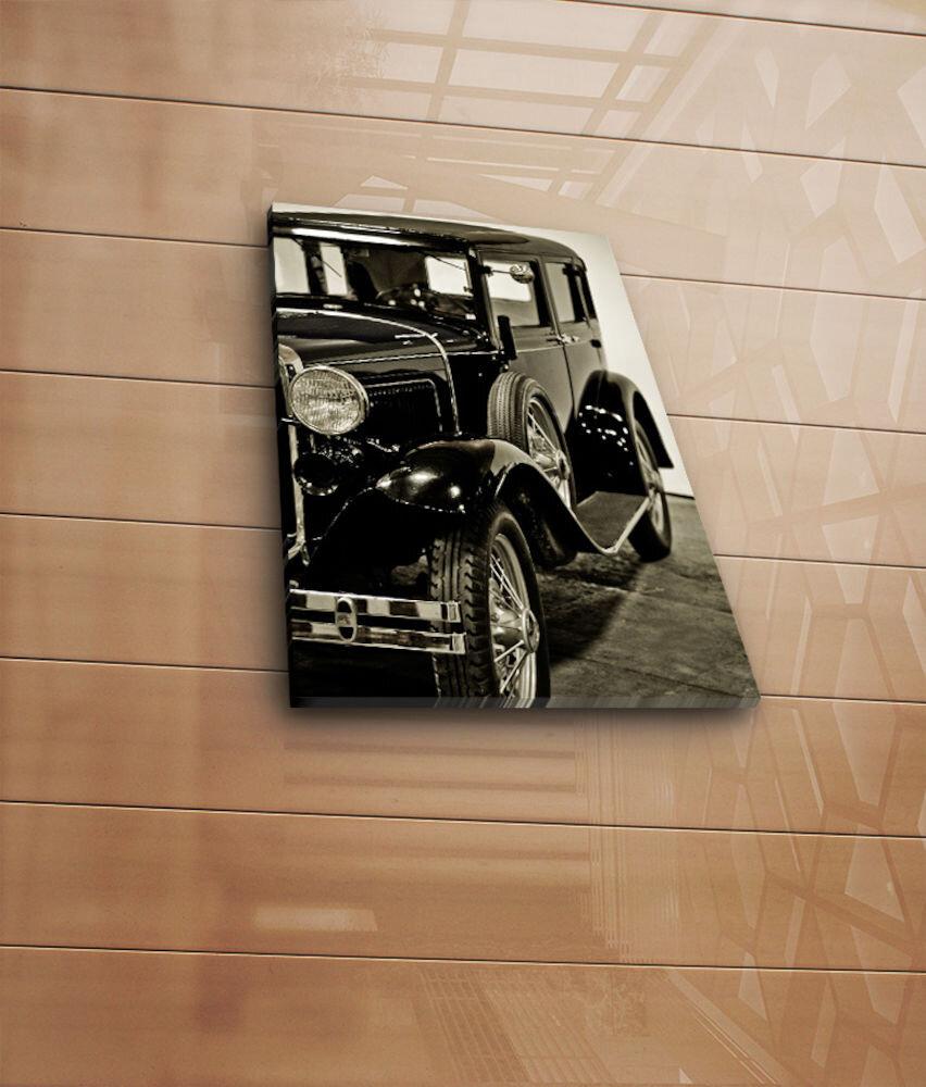 Tablou decorativ pe panza Horizon, 237HRZ3237, 28 x 38 cm, panza