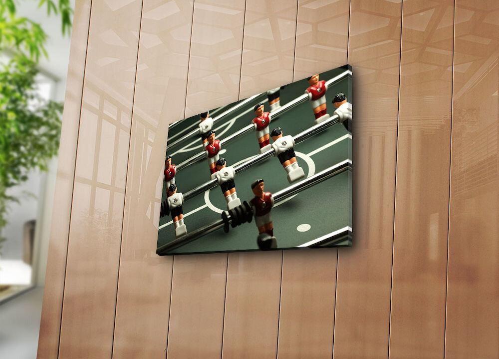 Tablou decorativ pe panza Horizon, 237HRZ3240, 28 x 38 cm, panza