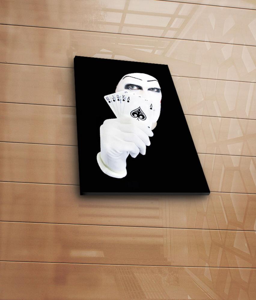 Tablou decorativ pe panza Horizon, 237HRZ3241, 28 x 38 cm, panza