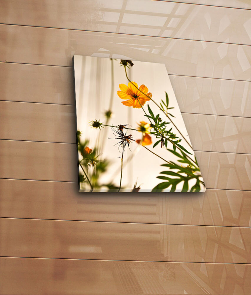 Tablou decorativ pe panza Horizon, 237HRZ3242, 28 x 38 cm, panza