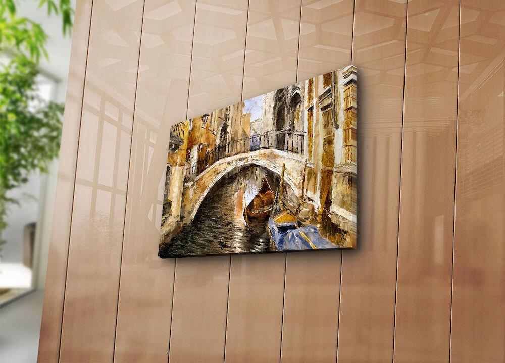 Tablou decorativ pe panza Horizon, 237HRZ3208, 30 x 40 cm, panza