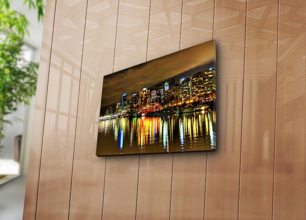 Tablou decorativ pe panza Horizon, 237HRZ3210, 30 x 40 cm, panza