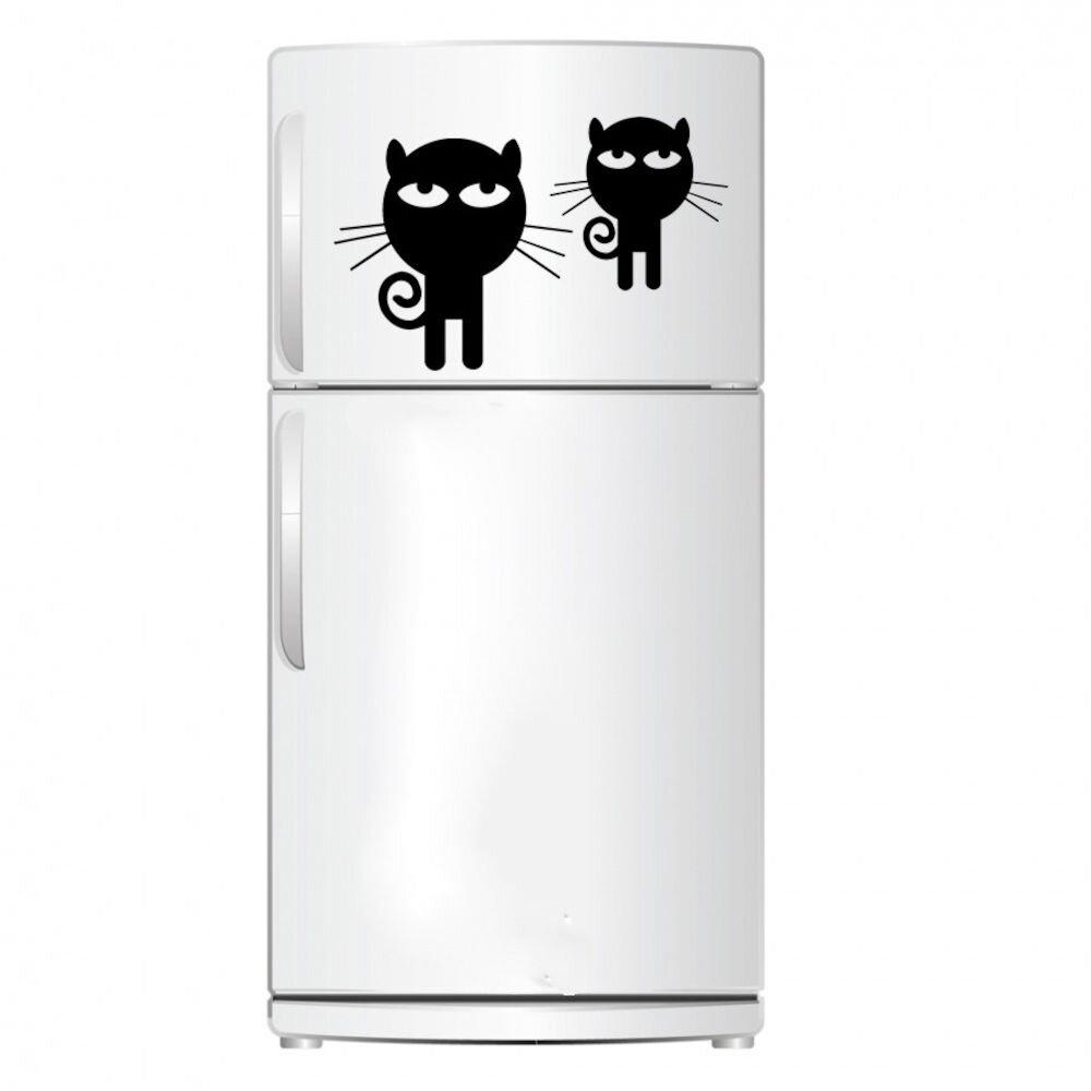 Sticker decorativ pentru frigider Pushy, 246PHY1404, 46 x 30 cm