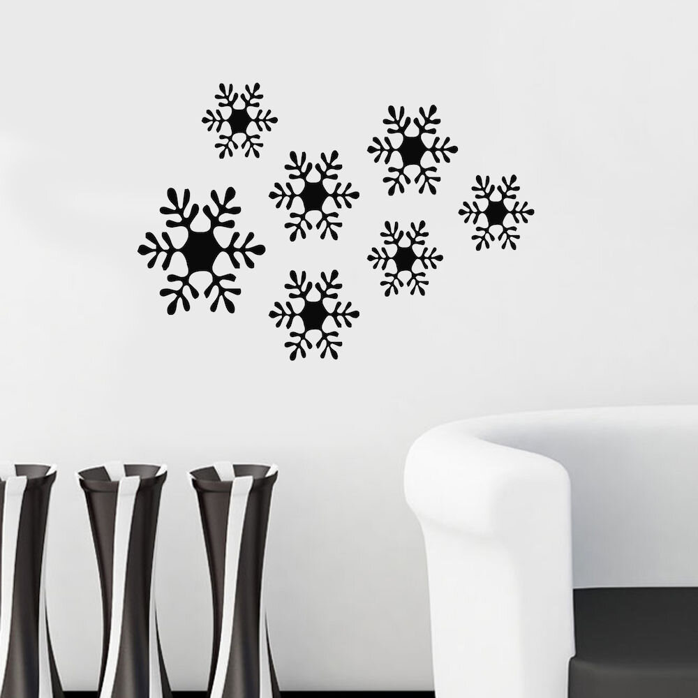 Sticker decorativ de perete Christmas Wall, 229CST1006, 49 x 34 cm
