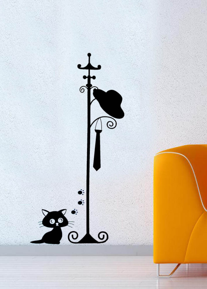 Sticker decorativ de perete Pushy, 246PHY1048, 24 x 48 cm