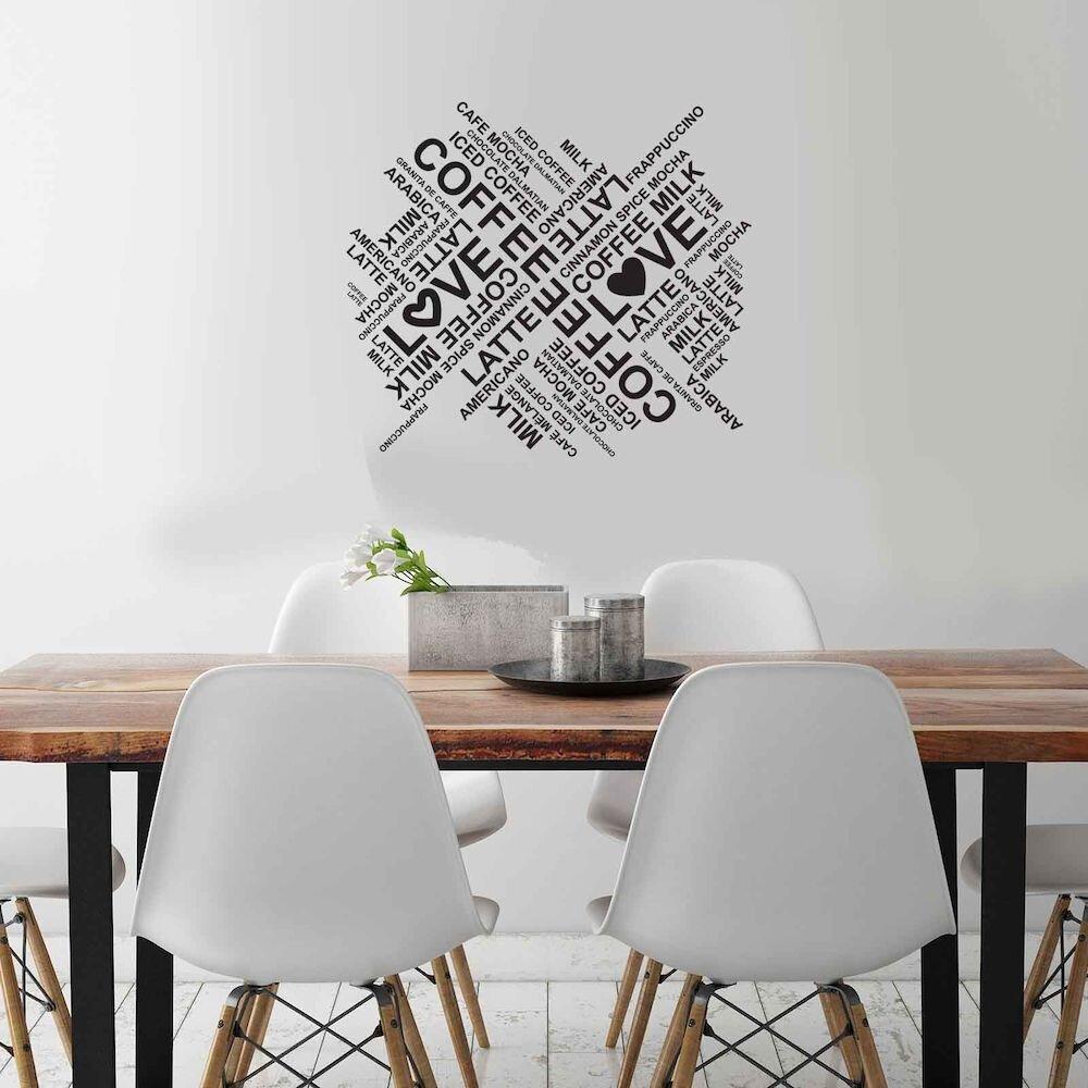 Sticker decorativ de perete Sticky, 260CKY1017, 45 x 39 cm