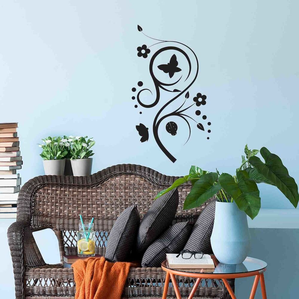 Sticker decorativ de perete Sticky, 260CKY1023, 28 x 50 cm