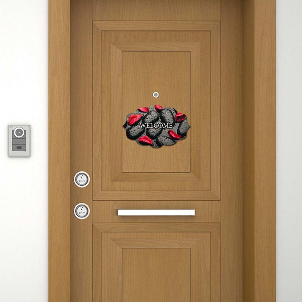 Sticker decorativ pentru usa Door Designer, 757DSG1964, 19 x 30 cm (1 bucata), MDF (Grosime: 2,8 mm)