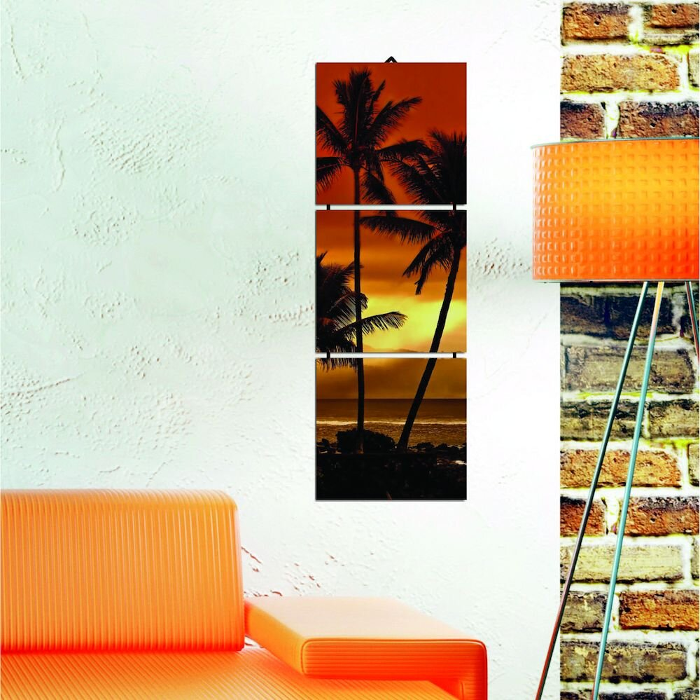 Tablou decorativ multicanvas Allure, 221ALL1934, 3 Piese, MDF (Grosime: 4mm)