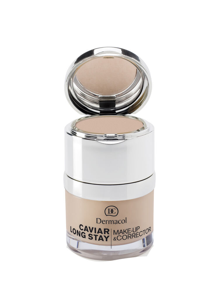 Fond de ten si corector cu Caviar Long Stay, 3 Nude, 30 ml