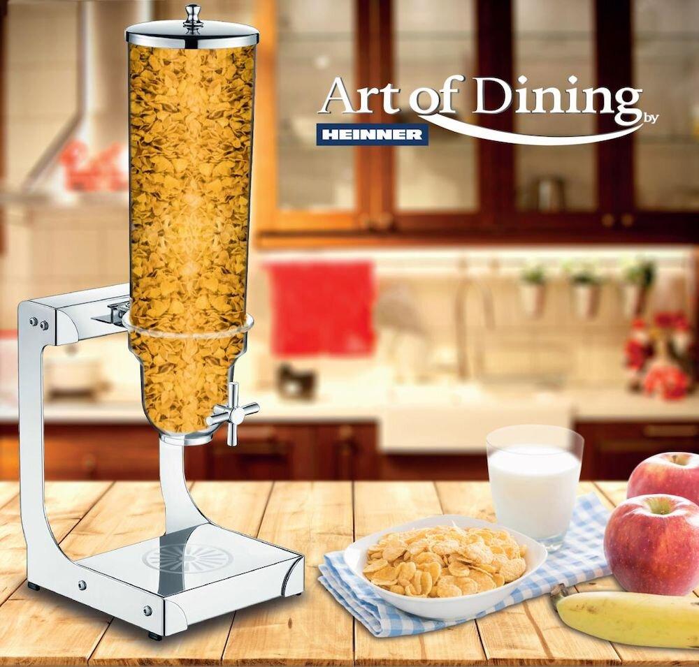 Dispenser pentru cereale Heinner HR-JVS-5A, incolor