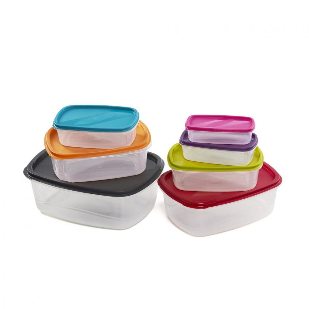 Set caserole Heinner VN-PW-5667-7, 7 piese, plastic, multicolor