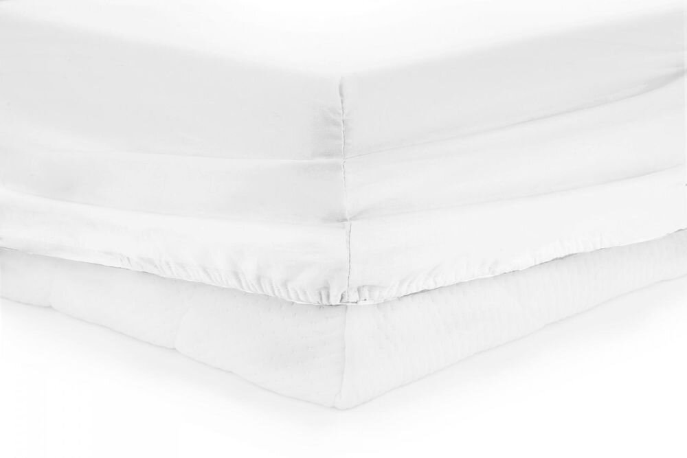 Cearceaf de pat Heinner HR-ZSHEET-140WHITE, 200x140 cm, 100% bumbac, alb