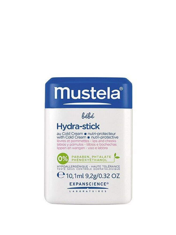 Hydra stick Mustela cu cold cream 10g