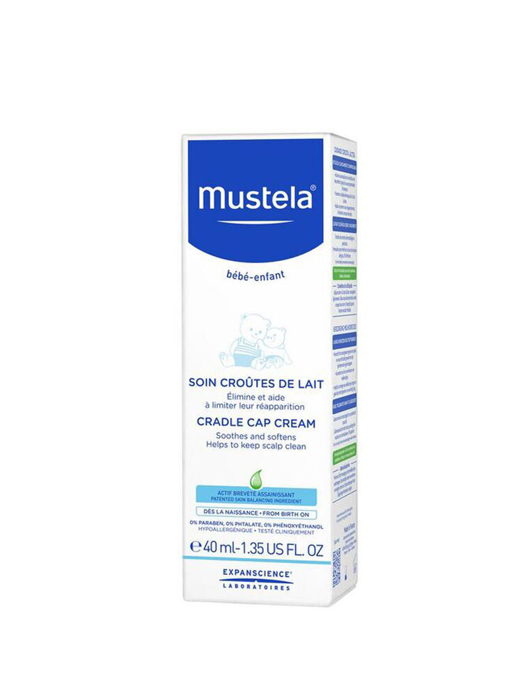 Crema Mustela tratament squame de lapte 40ml