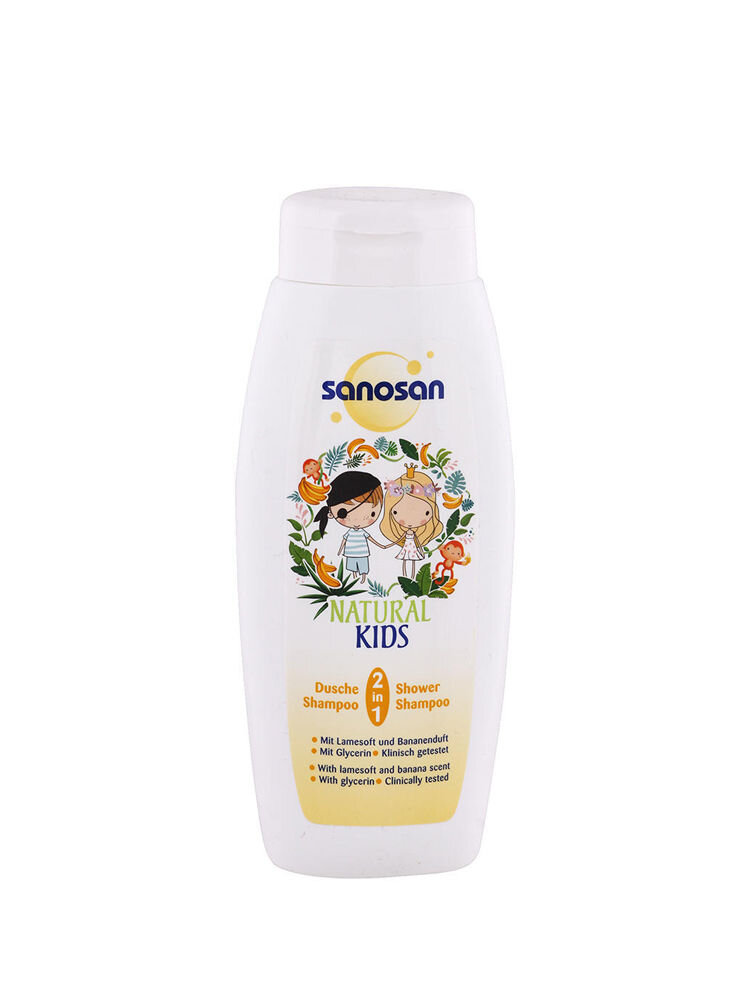 Sampon pentru copii Shower & Shampoo Banana